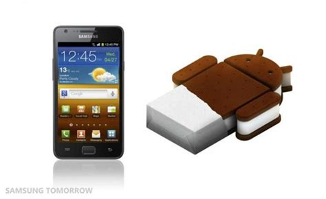 sandwich android samsung announces android 4 0 sandwich for galaxy s2