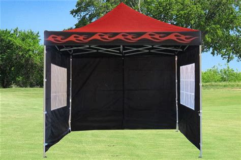 10 x 10 awning 10 x 10 red flame pop up tent canopy