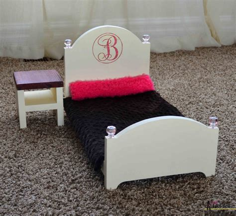 diy doll bed how to build a doll bed