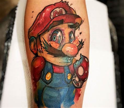 mario tattoo designs mario www pixshark images galleries with a