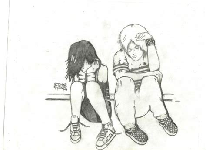 imagenes de amor y desamor para dibujar emos para dibujar a lapiz imagui
