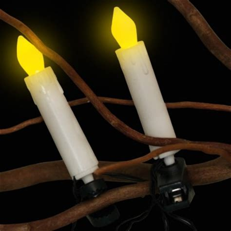 flickering led candle christmas tree lights