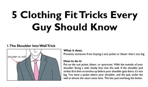 the one staple every should 5 clothing fit tricks every should made diy