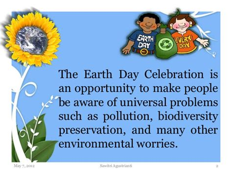 what is day earth day presentation