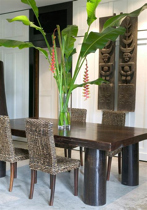 tropical dining room tropical dining room ideas home decor ideas