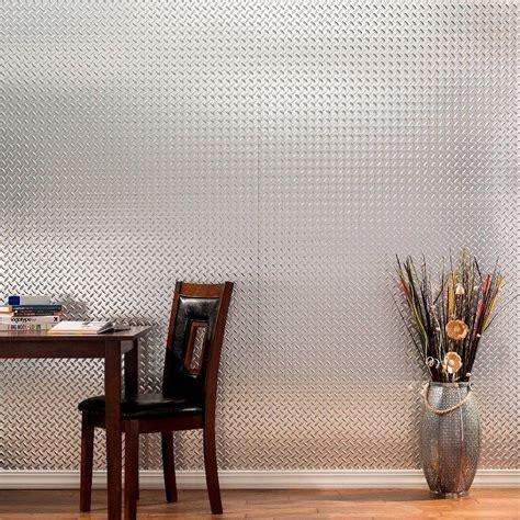 fasade diamond plate 96 in w x 48 in h x 0 013 in d fasade diamond plate 96 in x 48 in moonstone copper