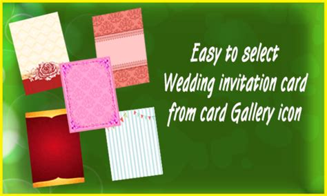 wedding invitation card maker wedding invitation cards maker android apps on play