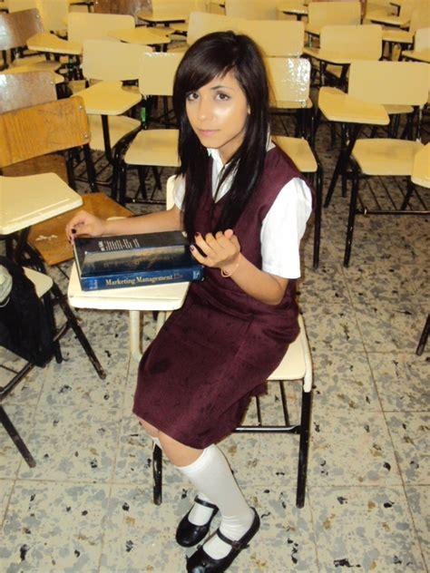 imagenes escolares para niñas jumper uniforme escolar secundaria fedl color vino 3er