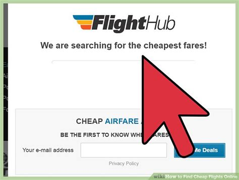 best flights cheap airfares find out how much you can 3 ways to find cheap flights online wikihow
