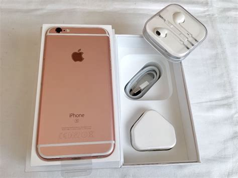 Iphone 6splus Rosegold 16gb apple iphone 6s 16gb gold brand new in box factory