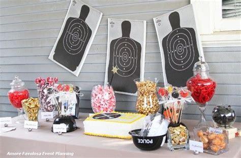 Police Retirement Candy Buffet   Orange County Wedding
