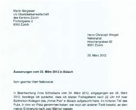 Brief In Schweiz Amtsgeheimnisverletzung Schweizblog Ch Nachrichten Aus Der Schweiz