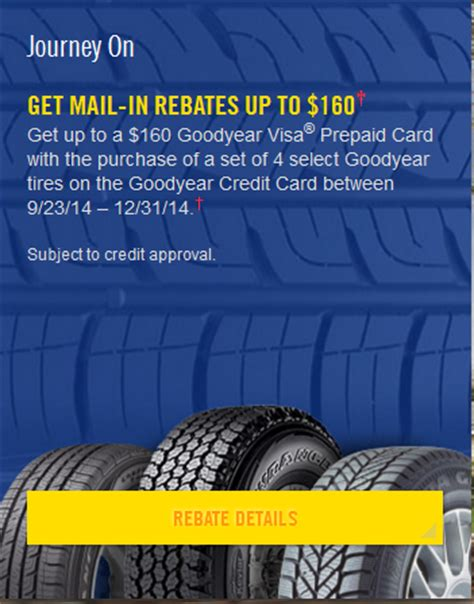 goodyear tire rebate goodyear tire rebate and coupons for may 2015