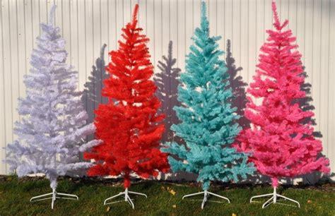k 252 nstlicher weihnachtsbaum wei 223 blau rot pink 120 210cm