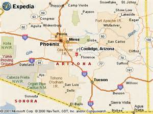 map of coolidge arizona coolidge az pictures posters news and on your