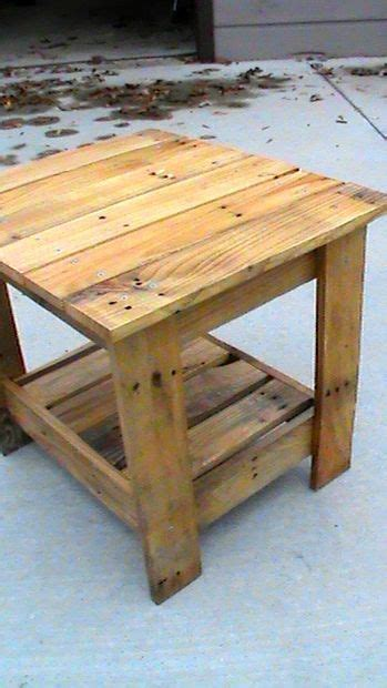 end tables made from pallets 25 best ideas about pallet end tables on wood