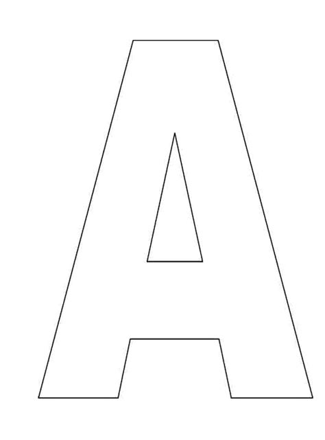 printable alphabet letter templates free alphabet letter templates to print books worth
