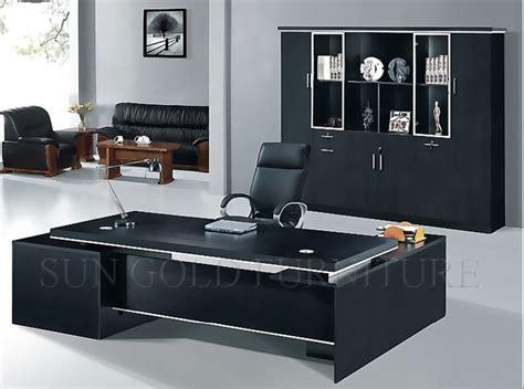 High End Black Manager Desk Mdf Office Furniture Sz Od159 High End Office Desks
