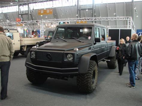 mercedes g500 pickup monster mercedes benz g wagen pick truck conversion
