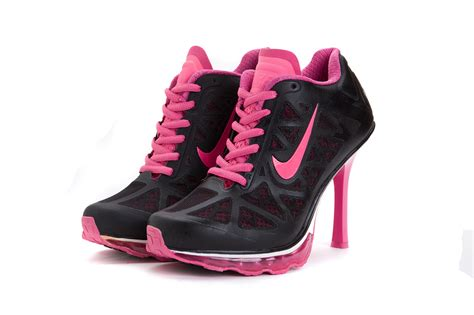 nike high heel sneaker womens nike air max 95 high heel sneakers black pink