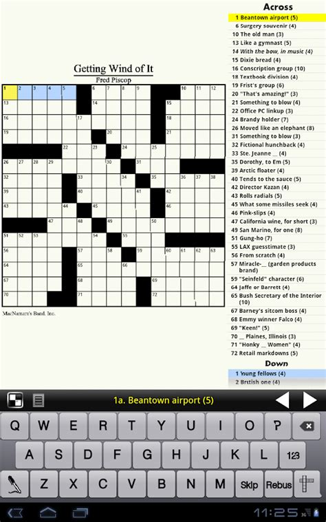 easy crossword puzzles app crosswords for android
