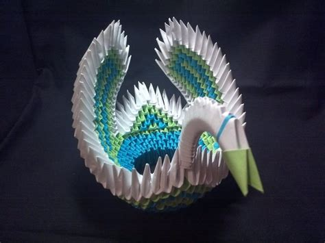 3d origami swan boat 35 best images about middle earth origami on