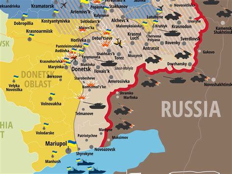 map ukraine war the new map of the ukraine conflict is alarming business