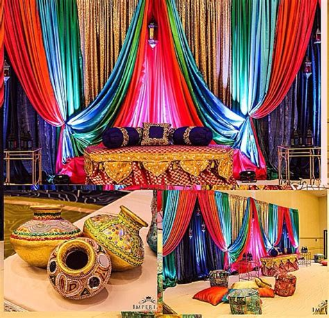 fascinating punjabi wedding house decoration ideas 48
