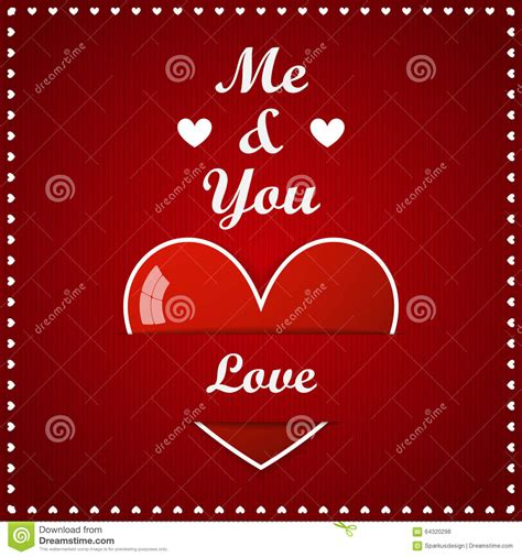 big valentines valentines day card big with inscription stock