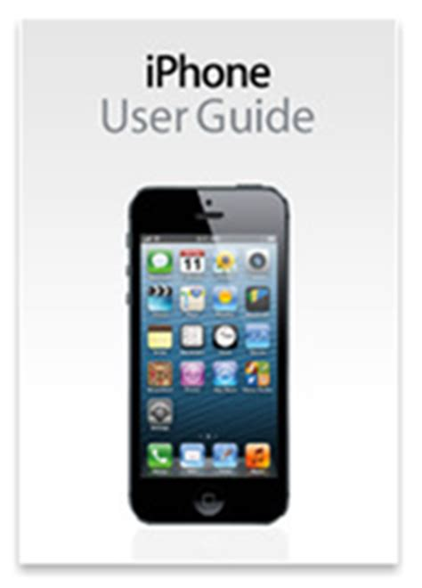 iphone user guide iphone 5 user guide now available on ibookstore redmond pie