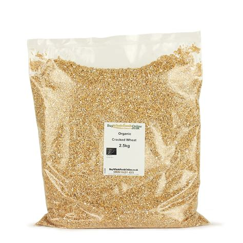 Whole Wheat Lazetta 2 5kg organic cracked wheat 2 5kg buy whole foods ltd