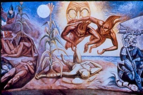 imagenes del universo segun los egipcios creacion del hombre maya raul anguiano la biblia de