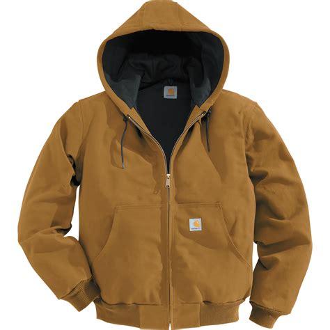 carhartt jacket carhartt duck active jacket thermal lined big style model j131 coats