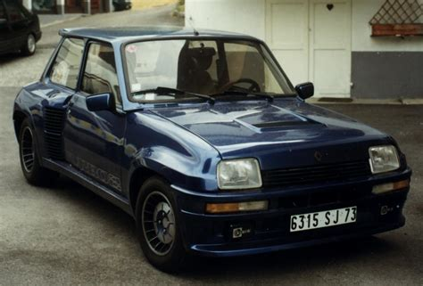 renault 5 alpine turbo 4731101