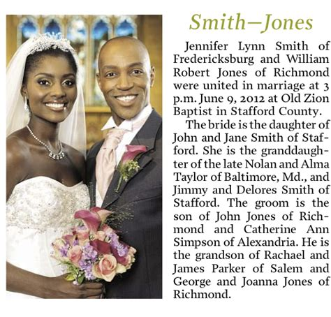 Wedding Announcement Write Up by All You Need To About Newspaper Wedding Announcement