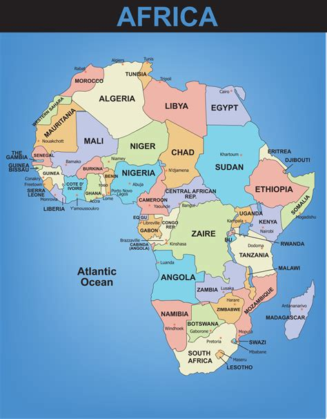 africa map and capitals africa map with capitals and countries 28 images 302