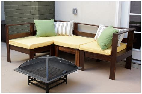 Small Outdoor Sectional Sofa Furniture Shaped Fabric Outdoor With Black Wooden Trends Including U Sectional