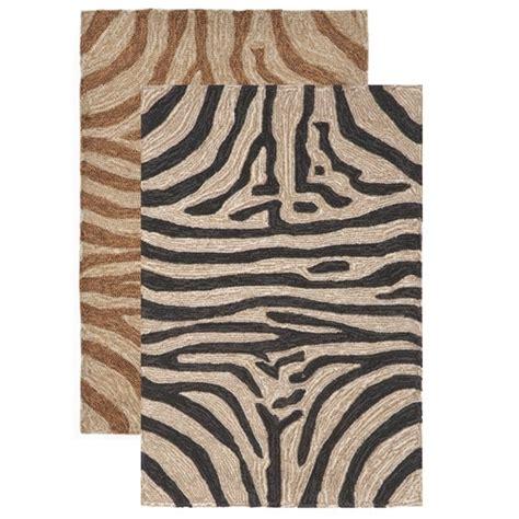 Zebra Print Outdoor Rug Zebra Area Rug Safari Zebra Print Indoor Outdoor