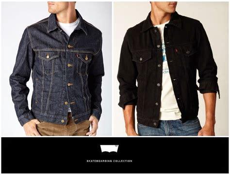 desain jaket levis keren jaket jeans levis keren modis murah ainul jaket