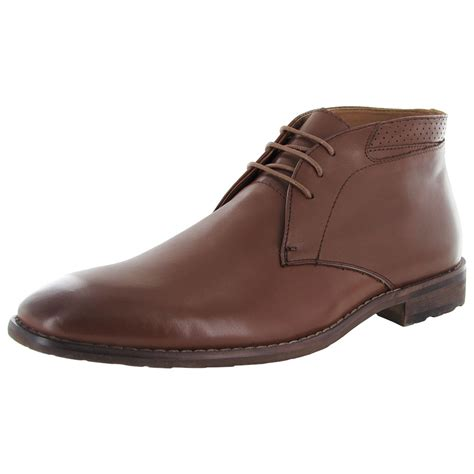 steve madden mens chukka boots steve madden mens eddard leather chukka boot shoe ebay