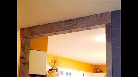 diy door frame diy country door frame moldura para entrada de cozinha