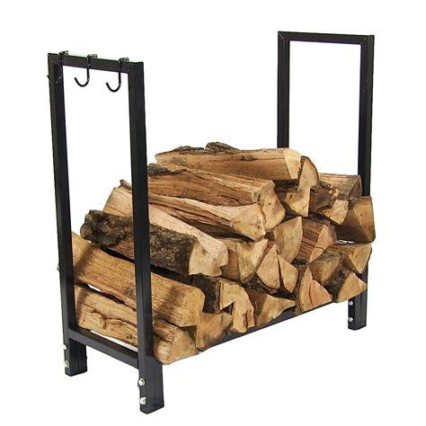 Indoor Firewood Rack by Black Steel Firewood Log Rack Indoor Outdoor Storage 30
