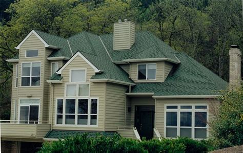 owens corning laminated composition shingles color chateau green corvallis or for the home