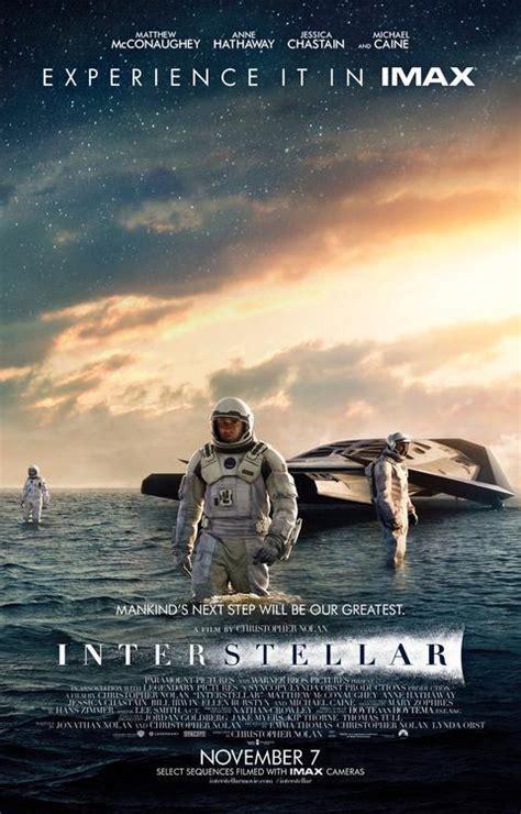 film up interstellar new interstellar poster sets expectations soaring