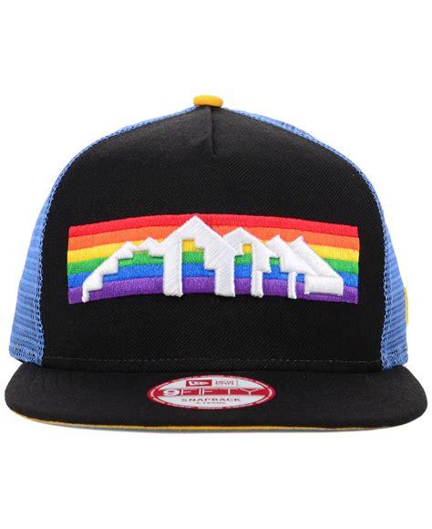 Snapback Hat U Imbong 1 lyst ktz denver nuggets basic trucker 9fifty snapback cap in black for
