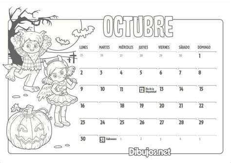 El Calendario Para Colorear 17 Best Ideas About Calendario Gratis On