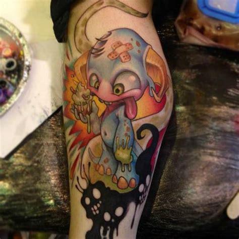 tattoo cartoon new school new school cartoon tattoo designs