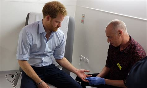 where does prince harry live prince harry takes a live hiv test on facebook
