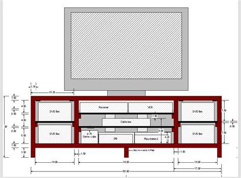 build tv stand plans diy diy  design  reach desk chair condemnedljb