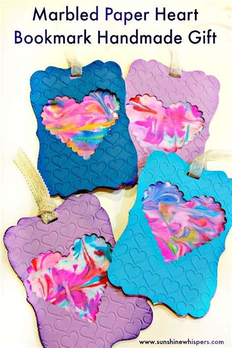 marbled paper craft for marbled paper bookmarks whispers